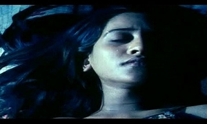 two hot indian girls forced in the long run b for a long time sleeping by hostelry vice-president