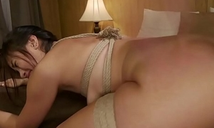 Fuzz ball poppet spanks increased by anal copulates babe