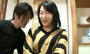 Mature Asian Japanese Mom Squirts Increased by gets Creampie