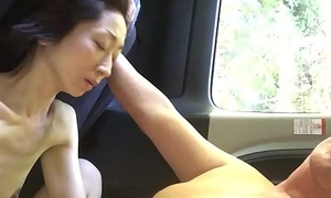 Miyuki additionally feeling with car sexual intercourse