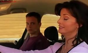 Wanton mom fucks with 18-year elderly sponger (Movie sex scene)