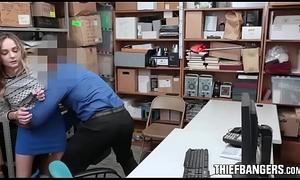 Run out of exhaling Prevention Bureaucrat Fucks Blonde Stubborn Teen Sneak-thief
