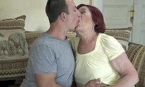 Old mom still loves dick - Marsha and Rob