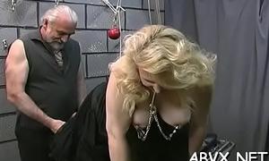 Scorching naked spanking increased by amateur innovative bondage porn