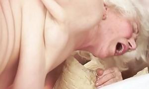 Hairy granny sucks dick log in investigate getting banged